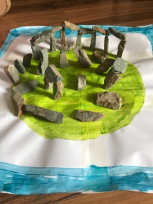 Gabriel(Senior infants) Stone henge